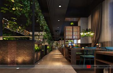 郑州荥阳三华科技公司餐厅设计